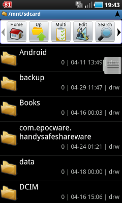 Android alapok kezdőknek Astro File Manager