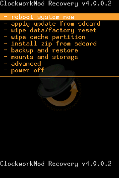 CWM xRecovery (ClockworkMod)