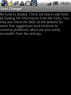 font changer Android
