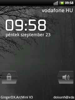 Android 2.3 (Gingerbread) GingerDX v014