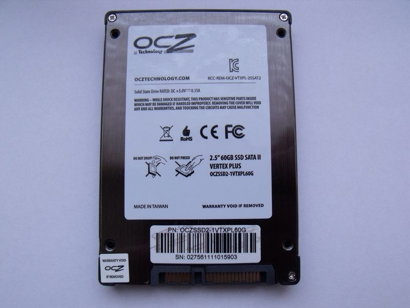 OCZ Vertex Plus 60GB